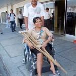 Emma Sabando Centeno - Silla de Ruedas - Cruzada Nueva Humanidad - Alvaro Noboa